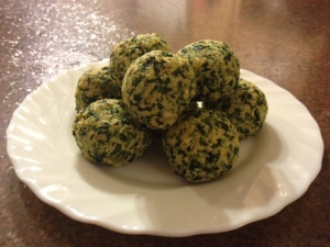 Melly's Spinach PUffs